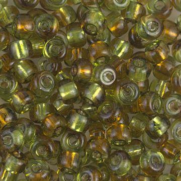 Seed Bead E-133S Miyuki Seed Beads 50 Silver Lined Topaz 20 grams Diy Beads